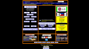 website redesign example
