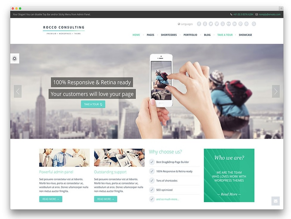 The 11 Best WordPress Themes of 2016