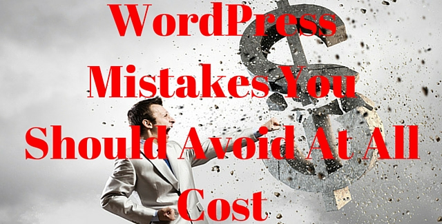 WordPress-Mistakes