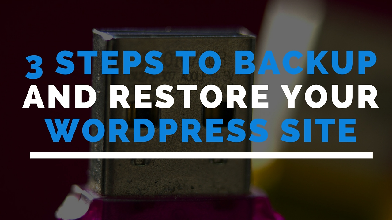 backup -estore-wordpress-site