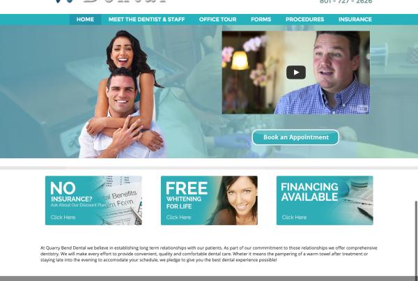 Dental Custom WordPress Design